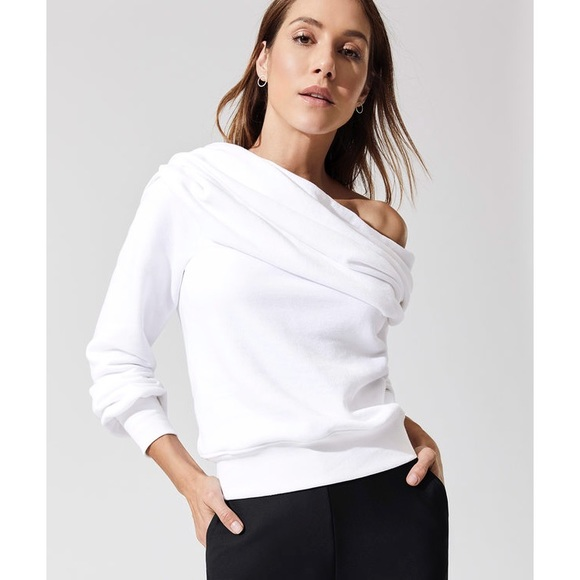 carbon38 Sweaters - CARBON 38 OFF SHOULDER SWEATER